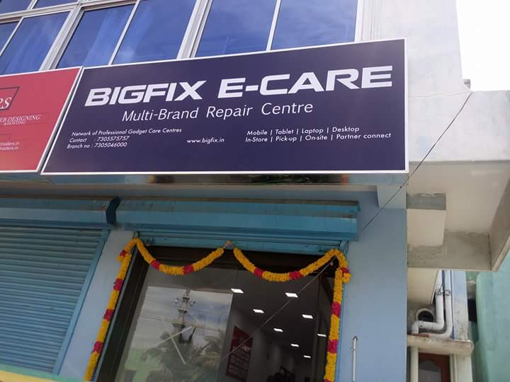 Bigfix ecare gadget care center mobile repair franchise india